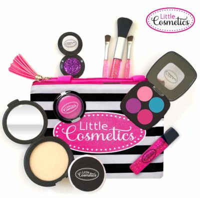 This is an image of a makeup toy set for little girls by Little Cosmetics.