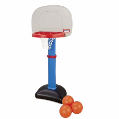 This is an image of a basketball loop set by Little Tikes.