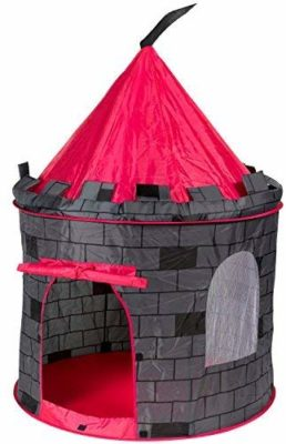 This is an image of a night castle prince playhouse tent by POCO DIVO.