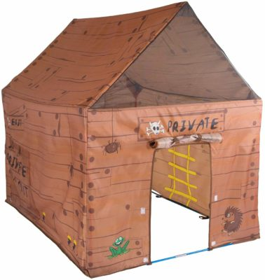 This is an image of a brown club house kid's tent by Roll over image to zoom in Pacific Play Tents.