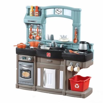 This is an image of a kitchen playset by Step2.
