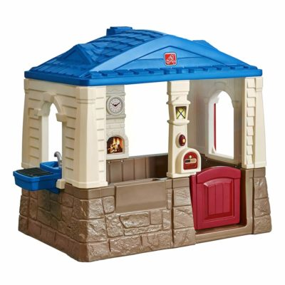 This is an image of a cottage playhouse for kids.