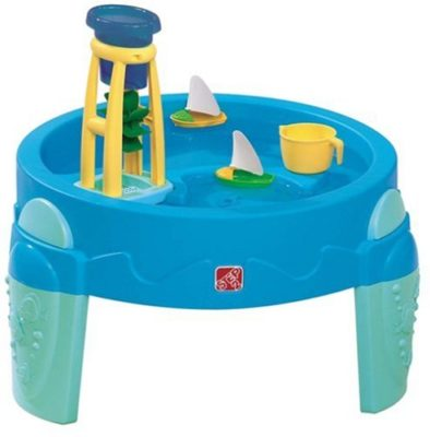 This is an image of a Waterwheel water table by Step2.