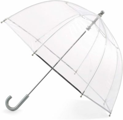 This is an image of a clear umbrella for kids by Totes.