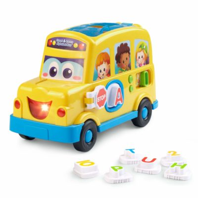 This is an image of an alphabet bus by VTech.
