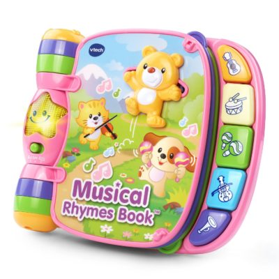 This is an image of a kids musical rhyme book by VTech.