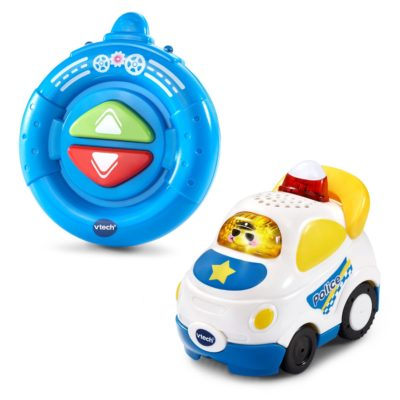 This is an image of a rc police car by VTech.