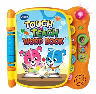 This is an image of a touch and teach word book by VTech.