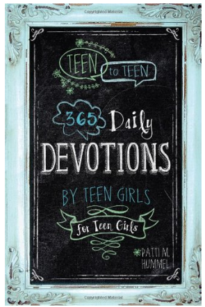 This is an image of girl's 265 daily devotions book