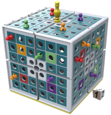 This is an image of boy's Squashed board game in colorful colors