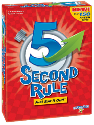 This is an image of boy's 5 second rule game