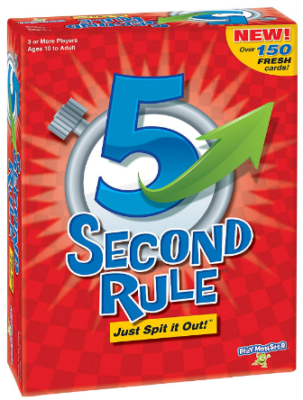 This is an image of boy's 5 second rule board game
