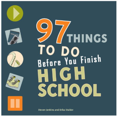 This is an image of boy's 97 things to do before you finish high school