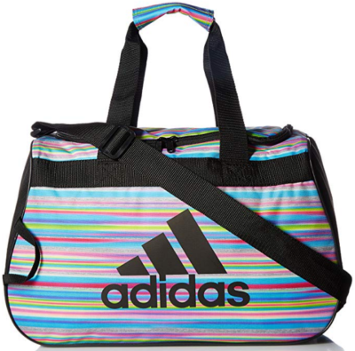 This is an image of girl's adidas diablo bag in colorful colors