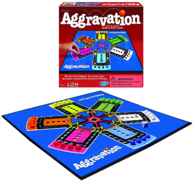 This is an image of kid's aggravation board game