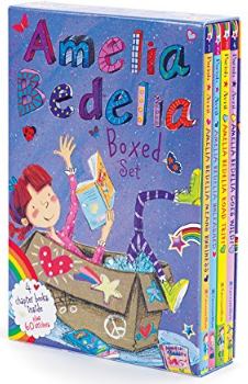 This is an image of girl's book box of amelia bedelia