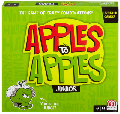 This is an image of kid's apples to apples junior board game