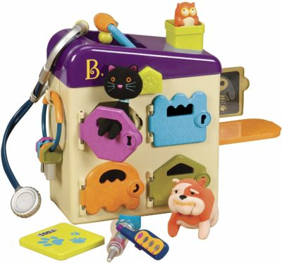 This is an image of a pet vet toy for kids by B. toys by Battat.