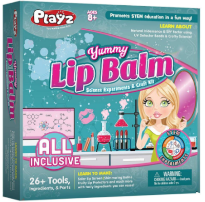 This is an image of girl's Balm science arts and craft kit