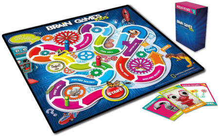 This is an image of kid's brain games kids board game