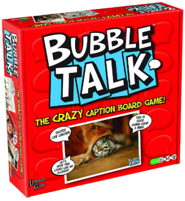 This is an image of kid's Bubble talk board game