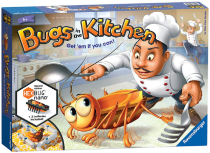This is an image of kid's bugs in the kitchen board game