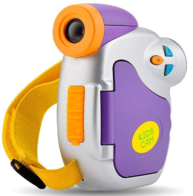 This is an image of boy's camcorder in colorful colors