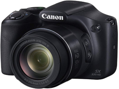 This is an image of girl's canon powershot pro in black color