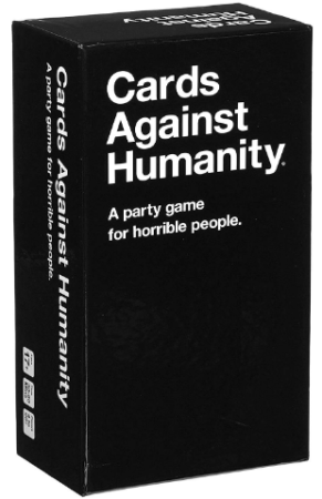 This is an image of girl's cards against humanity card game