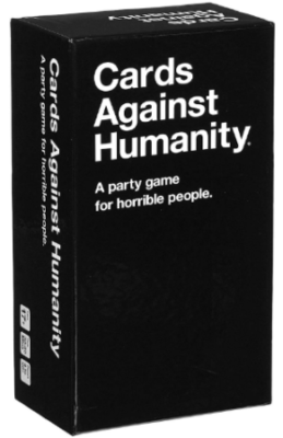 This is an image of boy's cards against humanity card game