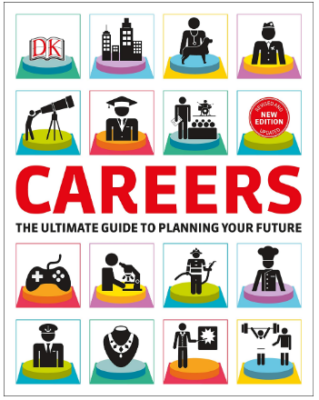This is an image of boy's Careers the ultimate guide to planning your future book