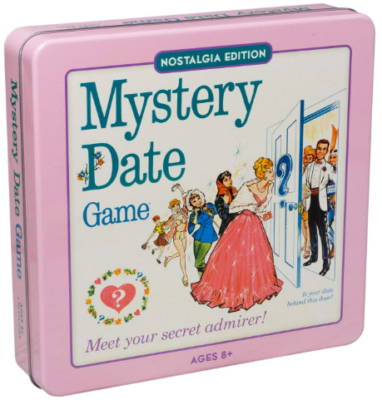 This is an image of girl's classic board game mystery date