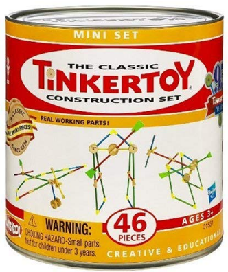 This is an image of kid's classic thinker construction building set in colorful colors