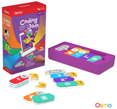 This is an image of girl's Coding jam by osmo in colorful colors
