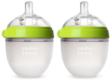 This is an image of baby's comotomo baby bottle pack