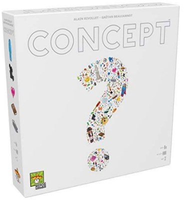 This is an image of kid's concept board game