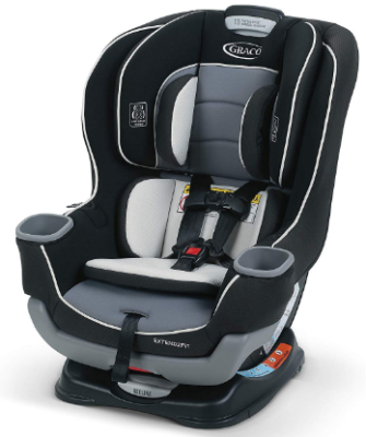 This is an image of infant's convertible car seat