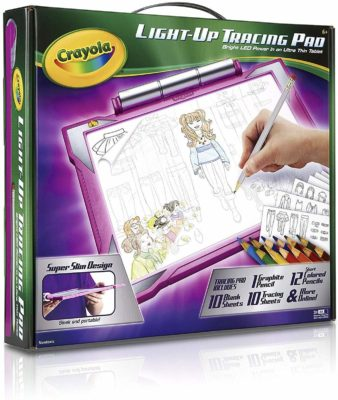 This is an image of a tracing pad for kids by Crayola.