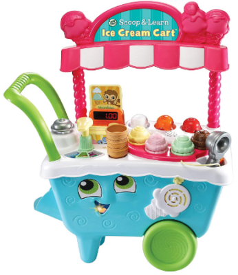 This is an image of girl's cream cart in colorful colors