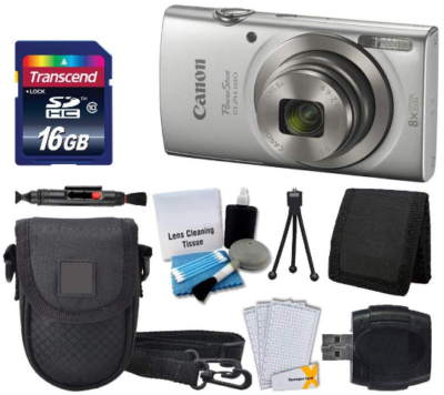 This is an image of boy's digital camera set in gray color
