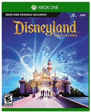 This is an image of kid's Disneyland game for xbox one