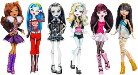 This is an image of girl's dolls toys collection pack