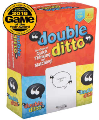 This is an image of girl's double ditto board game