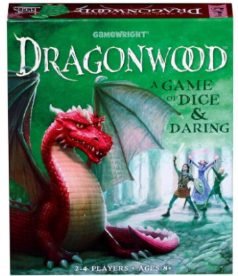 This is an image of kid's dragonwood board game