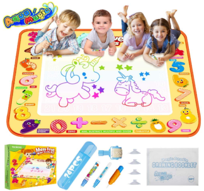 This is an image of boy's Educational doodle mat set