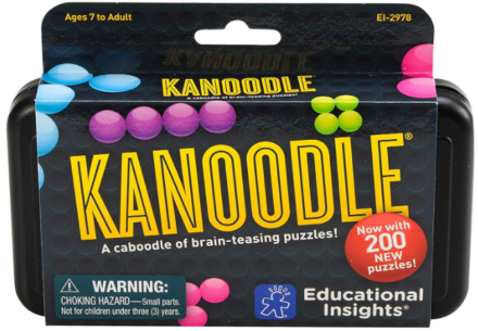 This is an image of boy's Educational insights kanoodle game in colorful colors