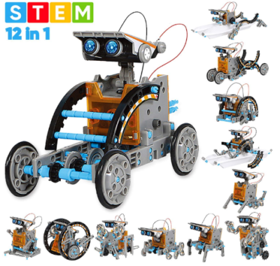 This is an image of kid's Educational solar STEM robot