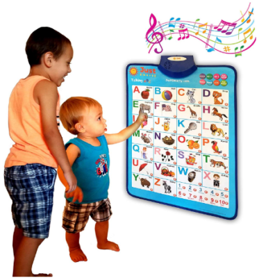 This is an image of kid's electronic interactive alphabet wall chart with sounds