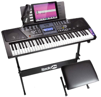This is an image of boy's electronic keyboard piano
