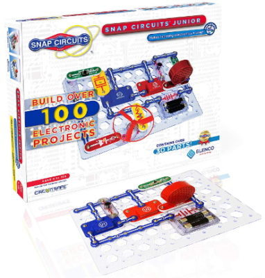This is an image of boy's electronics exploration kit